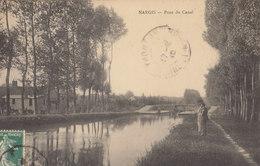 45  NARGIS   :  Le Canal  ///   REF  JUILLET .19  //  REF BO. 45 - Autres Communes