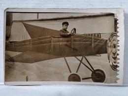 Carte Photo. Avion. Montage. Enfant - Photographie
