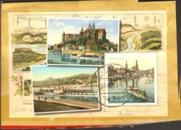 Sächsische Dampfschiffahrt 175 Jahre 2011  Block 78 Gestempelt Auf Briefstück - [7] Federal Republic