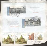 Deutscher Bundestag  2009  Block 76 Gestempelt Auf Briefstück - [7] République Fédérale