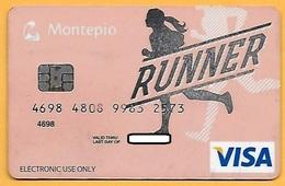 CREDIT / DEBIT CARD - MONTEPIO GERAL 013 (PORTUGAL) - Cartes De Crédit (expiration Min. 10 Ans)