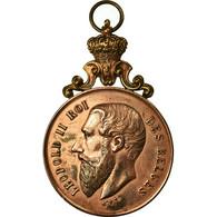 Belgique, Médaille, Léopold II, Fête Musicale De Baisieux, 1898, TTB+, Cuivre - Autres
