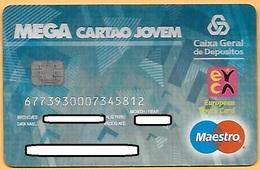 CREDIT / DEBIT CARD - CAIXA GERAL DEPÓSITOS 070 (PORTUGAL) - Cartes De Crédit (expiration Min. 10 Ans)