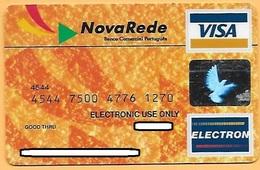 CREDIT / DEBIT CARD - NOVA REDE BCP 016 (PORTUGAL) - Cartes De Crédit (expiration Min. 10 Ans)