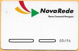 CREDIT / DEBIT CARD - NOVA REDE BCP 018 (PORTUGAL) - Cartes De Crédit (expiration Min. 10 Ans)