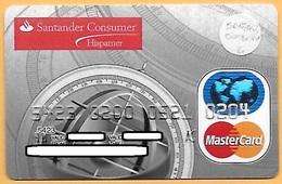 CREDIT / DEBIT CARD - SANTANDER CONSUMER HISPAMER 001 (PORTUGAL) - Cartes De Crédit (expiration Min. 10 Ans)