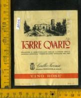 Etichetta Vino Liquore Vino Rosè Torre Quarto - Cerignola FG - Etichette