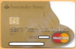 CREDIT / DEBIT CARD - SANTANDER TOTTA 034 (PORTUGAL) - Cartes De Crédit (expiration Min. 10 Ans)