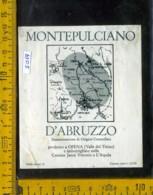 Etichetta Vino Liquore Montepulciano D'Abruzzo V. Del Tirino  - AQ - Etichette