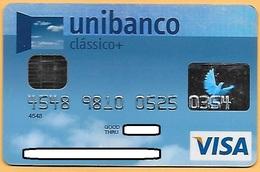 CREDIT / DEBIT CARD - UNIBANCO 019 (PORTUGAL) - Cartes De Crédit (expiration Min. 10 Ans)