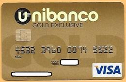 CREDIT / DEBIT CARD - UNIBANCO 020 (PORTUGAL) - Cartes De Crédit (expiration Min. 10 Ans)
