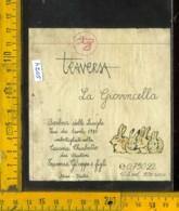 Etichetta Vino Liquore Barbera Delle Langhe 1985 La Giovincella - Neive CN - Etichette