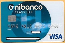 CREDIT / DEBIT CARD - UNIBANCO 021 (PORTUGAL) - Cartes De Crédit (expiration Min. 10 Ans)