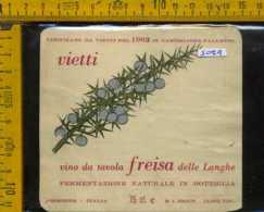Etichetta Vino Liquore Freisa Delle Langhe 1982 Castiglione Falletto CN - Etichette