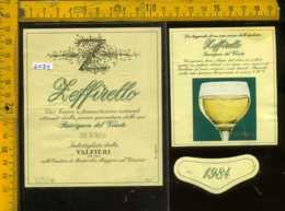 Etichetta Vino Liquore Sauvignon Del Veneto 1984 Seffirello Valfieri-Alba CN - Etichette