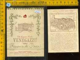 Etichetta Vino Liquore Riserva Di Casa Venegazzù -Cendon TV - Etichette