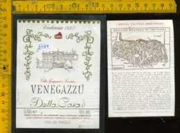 Etichetta Vino Liquore Riserva Della Casa 1982 G. Loredan - Venegazzù TV - Etichette