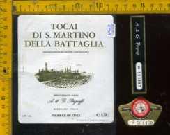 Etichetta Vino Liquore Tocai Di S. Martino Della Bataglia - Bardolino VR - Etichette