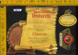 Etichetta Vino Liquore Chiaretto 1986 Venturelli-R. Di Puegnago Del Garda BS - Etichette