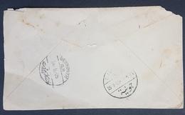 LNPC 1926 Cover UK To Lebanon With Nice Djounieh Cancel, Grand Liban Type - Lebanon