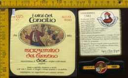 Etichetta Vino Liquore Marzemino Del Trentino 1981  - Volano TN - Etichette