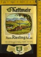 Etichetta Vino Liquore Rhein Riesling Renano 1968 - Caldaro BZ - Etichette
