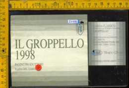 Etichetta Vino Liquore Il Groppello 1998 Pasini - Raffa Del Garda BS - Etichette