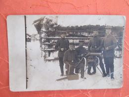 Carte Photo De Militaires En Moselle . Cachet Censure Sarrebourg - France
