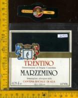 Etichetta Vino Liquore Marzemino 1982 Cant. Sociale Di Ala TN - Etichette