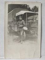 Carte Photo. Camion Berliet - Camions & Poids Lourds