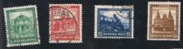1931 1. Nov. Nothilfe Mi DR 459 - 62 Sn DE B38 - 41 Yt DR 435 - 38 Sg DR 472 - 75 Gestempelt - Gebraucht