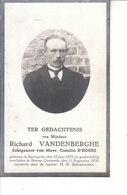 Richard Vandenberghe (1879-1938) - Devotieprenten