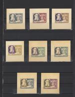 ++ 1956 Writers Tolstoy 40 Kop Nominal In Different Colour Thick Paper Colour Proof - Essais & Réimpressions