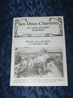 NOS DEUX CHARENTES EN CPA N°2 / METIER OSTREICULTEUR / SAINTES /  ROCHEFORT / ROYAN / OLERON / SAUJON - Poitou-Charentes