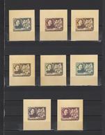 ++ 1956 Writers Gorkiy 40 Kop Nominal In Different Colour Thick Paper Colour Proof - Essais & Réimpressions