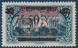 France Colonies Grand Liban N°118D**(Maury 2009) Erreur De Surcharge Sur N°111 RR - Great Lebanon (1924-1945)