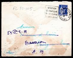 FL80-005 : Dept 80 (Somme) CAYEUX SUR MER 1935 > FG Daguin > Station Climatique (CAY103) - Oblitérations Mécaniques (flammes)