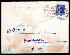 FL80-005 : Dept 80 (Somme) CAYEUX SUR MER 1935 > FG Daguin > Station Climatique (CAY103) - Postmark Collection (Covers)