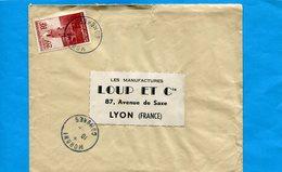 MARCOPHILIE-COMORES-Lettre>Françe Cad Moroni-1959 -stamp N°11 Mosquée D'anjouan - Comores (1950-1975)