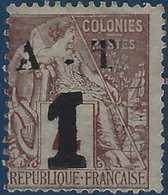 France Colonies Annam & Tonkin N°6 ( ) Sans Gomme Comme Toujours RR Signé Brun - Unused Stamps