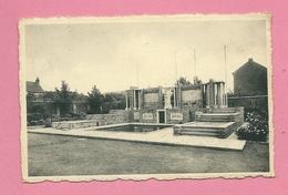 C.P. Hornu =  Monument  Aux  Morts  1914-1918  Et  1940-1945 - Boussu