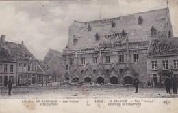 Nieuwpoort, 1914, Nieuport En Belgique, Les Halles (pk60926) - Nieuwpoort