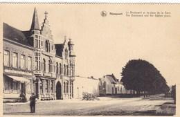 Nieuwpoort, Nieuport , Le Boulevard Et La Place De La Gare (pk60928) - Nieuwpoort