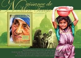 Guinea, 2010. [gu10317] Mother Terresa (1910-1997) (s\s+block) - Mother Teresa