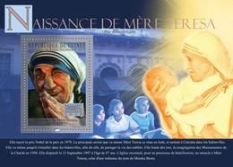 Guinea, 2010. [gu10318] Mother Terresa (1910-1997) (s\s+block) - Mother Teresa