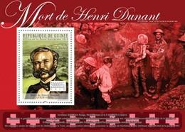 Guinea, 2010. [gu10320] Henri Dunant (1828-1910) (s\s+block) - Henry Dunant