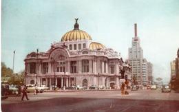 PALACIO DE BELLAS ARTES-MEXICO- VIAGGIATA 1954 - Messico