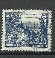Germany DDR 1961 Michel 816 Brocken O - Géographie