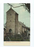 Postcard  Wales Llanhilleth Old Parish Church Unused Monmouthshire - Monmouthshire
