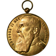 Belgique, Médaille, Léopold II, Festival De Musique De Baisieux, 1908, TTB - Belgique